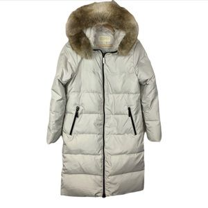 Long Michael Kors Down & Feather Filled Coat